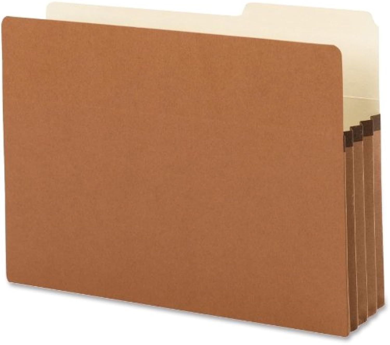 SMEAD Datei Tasche, 2 5-cut Tab rechts Position, GUIDE Hhe, 3–1 5,1cm Expansion, Legal Gre, rotrope, 25pro Box (74088)