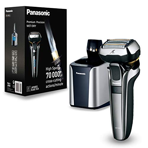 Price comparison product image Panasonic ES-LV9Q Wet and Dry Shaver with Charging Stand
