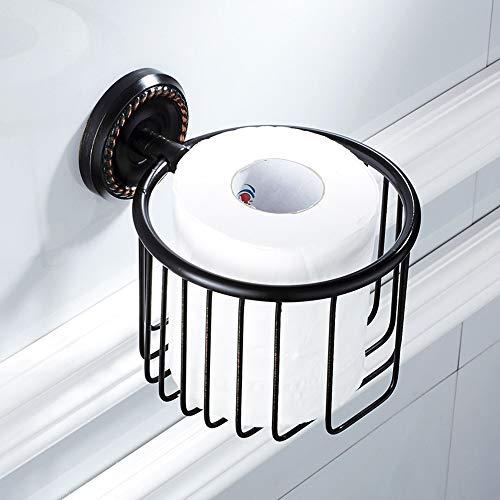 ETH American Foreign Trade Stijl Zwart Roll Papier Opslag Papier Handdoek Zwart Brons Keuken En Badkamer Hardware Hanger Toiletpapier Houder duurzaam