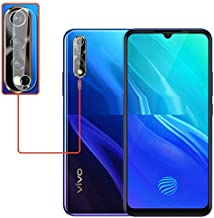 prime retail anti glare scratch proof camera lens tempered glass edge to edge full screen coverage for vivo s1