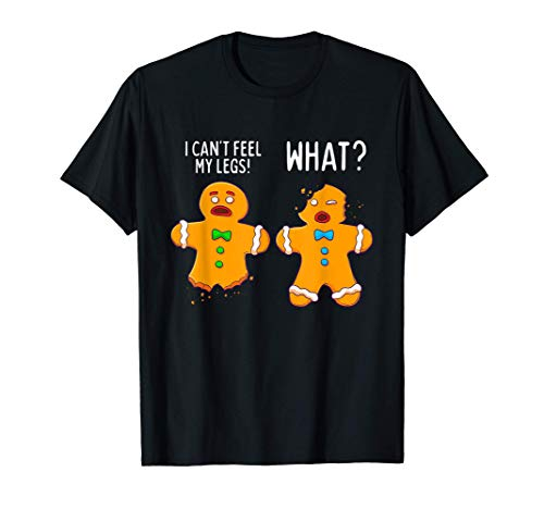 Gingerbread Men Christmas Funny Cookie Baking Gift T-Shirt