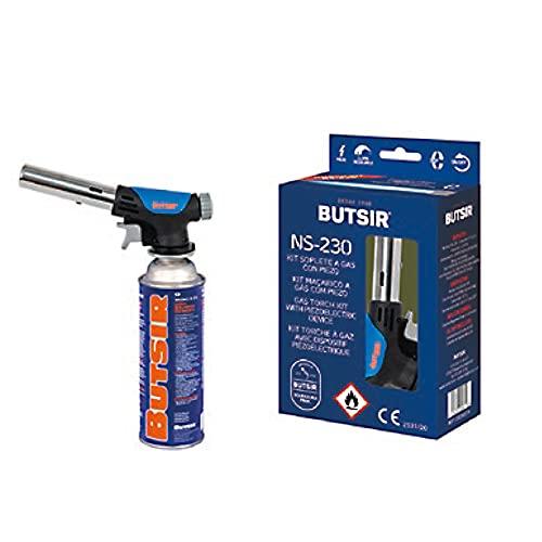 Soplete quemador NS-230 - Butsir (incluye cartucho de carga)