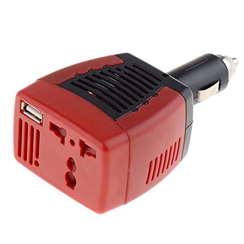 Mr.Dai 75W Wechselrichter 12V Bis 220V 50Hz Spannungswandler Auto Wechselrichter Mit 1 USB Ladeanschluss 75W Car Inverter