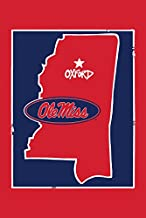 Magnolia Lane Collegiate Garden Flag (Ole Miss State)