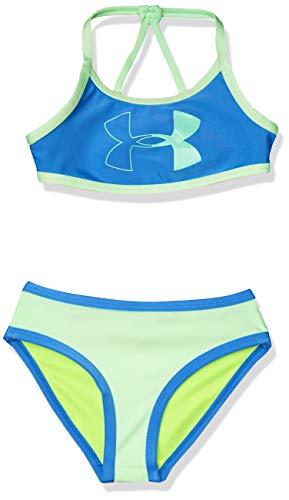 Under Armour Girls' Toddler Bikini, Water sp20, 2T
