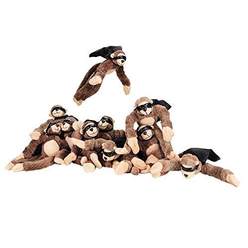 Playmaker Toys Flingshot Slingshot Flying Screaming Monkey The Infestation 10-Pack