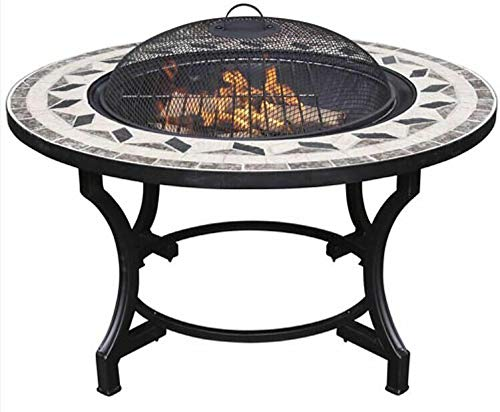 Energi8 1 Pc of Mosaic Tile Fire Pit Grill