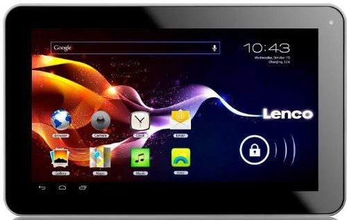 Lenco CARTAB-920 22,9 cm (9 Zoll) Tablet-PC mit Fahrzeug-Kit (Cortex A8, 1GHz, 512MB RAM, 8GB interne Speicher, 2 Megapixel Kamera, Android 4.0)