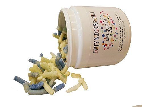 Super Sculpting Play Dough / Doh Soap (Dirty Kids Organics) Kids Natural Organic Moldable Bath Soap Dough