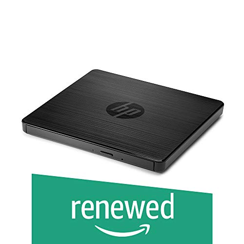 HP F6V97AA#ABB Externes USB Laufwerk (für CD, DVD) schwarz (Generalüberholt)