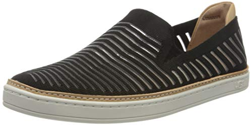 UGG Womens Sammy Breeze Sneaker, Black, Size 7