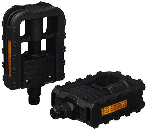 Lampa Mtb Pd-Juego de Pedales con 10 Bolas Plegables, Color Negro