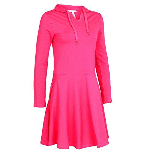 adidas st Skater Vestido, Color Rosa, Talla M