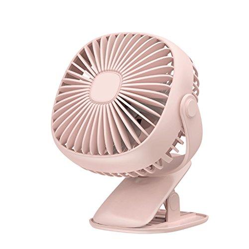 Vierkante mini-nachtlampventilator, 360 graden ventilator, voor handventilator, draagbare USB-ventilator voor scholieren en woonhuis, oplaadbaar, shake fan desktop familie F