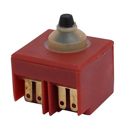 sourcingmap Amoladora angular de piezas del interruptor del empuje Botton para Makita 9553/9555/9556/9558