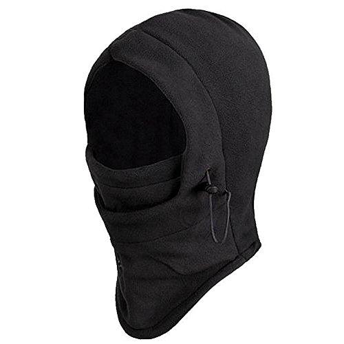 TRIXES Balaclava, Thermo Sturm-, Kopfhaube aus Fleece, Hals-, Kopf- & Nackenwärmer in Einem - Sturmhauben & Masken