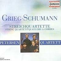 Grieg/Schumann - String Quartets by Petersen Qt (2006-01-01)