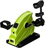 YQG Bicicleta de Ejercicio portátil con Pedal para piernas y Brazos, Equipo de rehabilitación de acondicionamiento físico Debajo del Escritorio, bajo Impacto, Mini Bicicleta estática magnética p