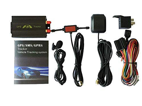 GPS Car Tracker with GPRS and Vehicle Theft Protection System (Model:TK103A)