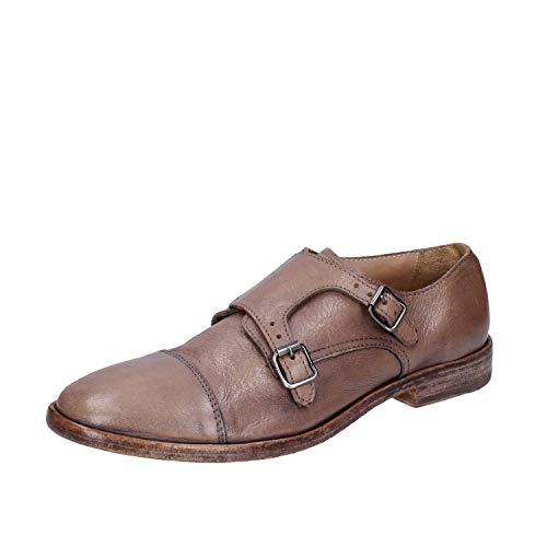 MOMA Elegante Schuhe Herren Leder beige 42 EU