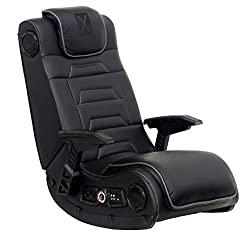 X Rocker Pro Series H3 Black Leather