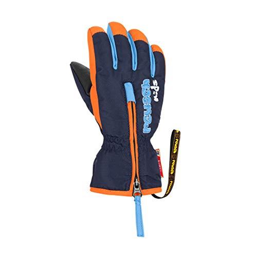 Reusch Herren Ben Handschuhe, Dress Blue/orange Popsicle, IV