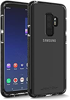 Impact Gel Crusader Lite Series Case for Samsung Galaxy S9+ - Clear/Black