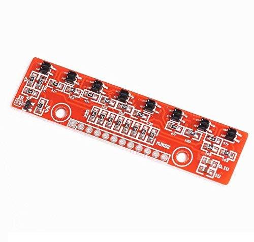 Módulo de seguimiento Módulo de búsqueda Módulo de sensor de detección de infrarrojos de 8 bits para Arduino