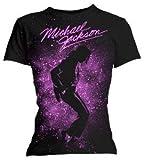 Tee-Shirt Noir Femme Michael Jackson