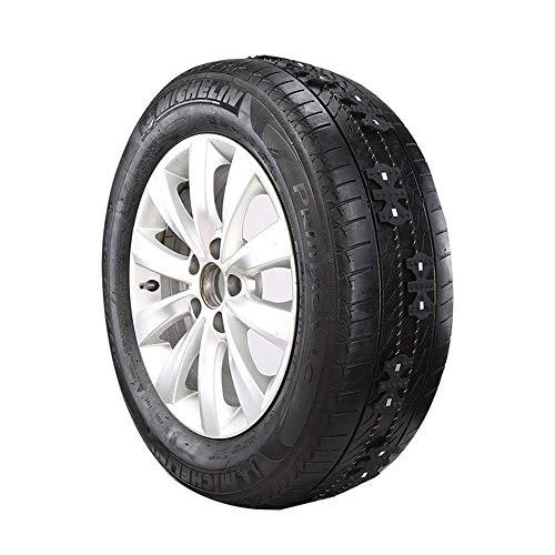 Véhicules universels Hiver Chaîne de pneus pour voitures Chaîne de pneus élargie Ceinture antidérapante Installation facile Accessoires de voiture Auto Antidérapant