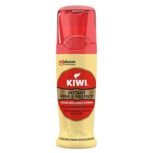 Kiwi Shine & Protect Schuhcreme, für sofortigen Glanz, Farblos, 75ml, 6er Pack