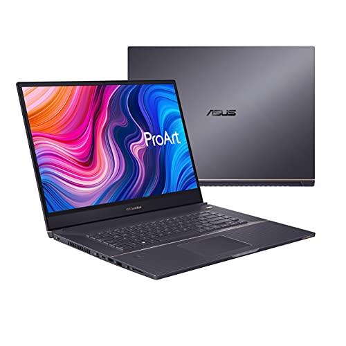 "ASUS ProArt StudioBook 17 Mobile Workstation Laptop, 17"" 16:10 NanoEdge Bezel, Intel Core i7-9750H, 32GB DDR4, 512GB+512GB RAID-0 SSD, NVIDIA GeForce RTX 2060, Windows 10 Pro, H700GV-XS76, Star Gray"