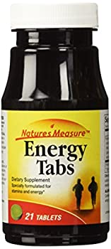 Nature s Measure Energy Tabs 21-ct