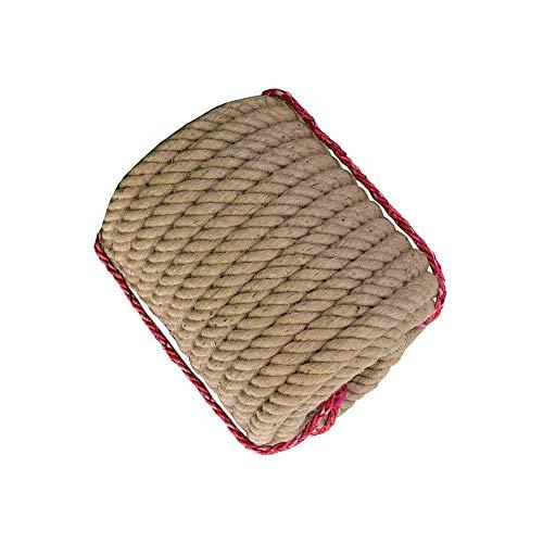 BD.Y Corde de Chanvre, Corde Naturelle Solide de 16 mm d'épaisseur, pour Corde Artisanale/Corde à gratter pour Chat/groupage de Jardin (Taille: 50 m)