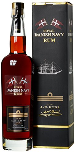 A.H. Riise Danish Navy Rum (1 x 0.7 l)