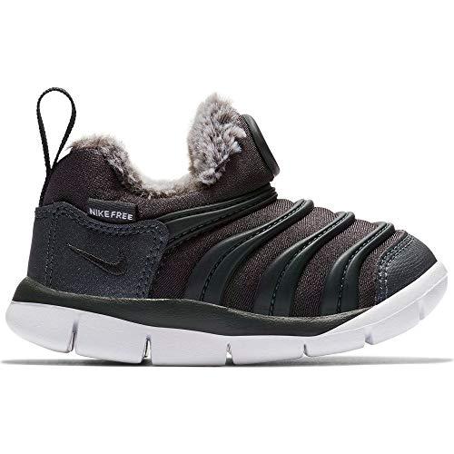 Nike Unisex Kinder Dynamo Free Se (td) Hausschuhe, Mehrfarbig (Anthracite/Anthracite/White 002), 17 EU