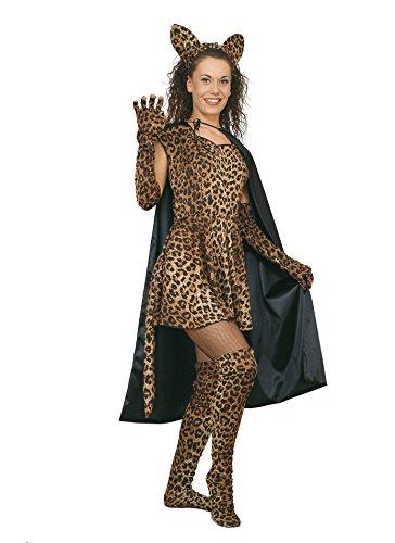 Ciao - Leopardo Sexy Costume Donna Adulto, Taglia M