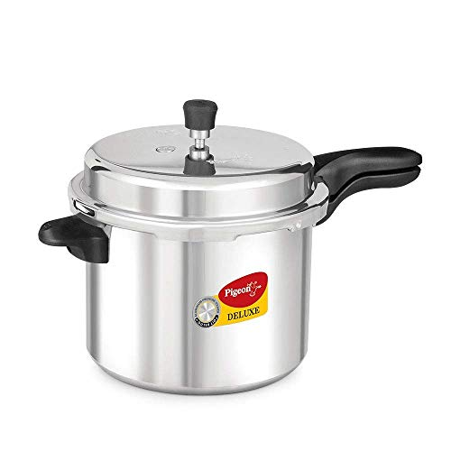 Pigeon by Stovekraft 104 Deluxe Aluminium Pressure Cooker, 7.5 Litres