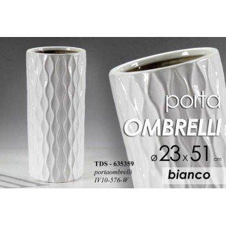 PORTAOMBRELLI BIANCO 23x 51 CM