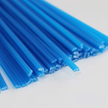 50 x Plastic Welding Rods ABS//PP//PVC//PE Fairing Sticks Gun Welders Arts Hobby