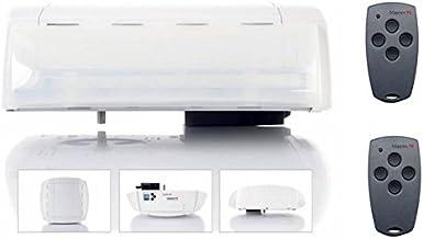 MARANTEC Comfort 370, garagedeuropening, inclusief 2 afstandsbedieningen, looprail