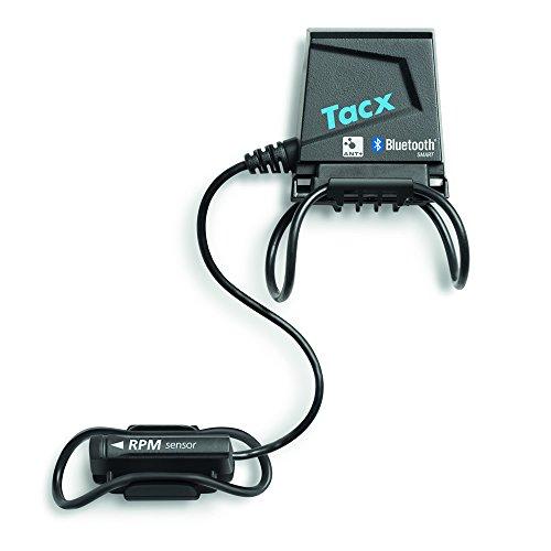 Tacx Accessory - Sensor de velocidad y cadencia (Bluetooth), color negro