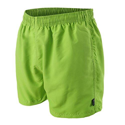 OAHOO Herren Badeshorts Lime Green-3XL