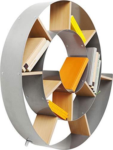 Wandregal Snail, dekoratives Schneckenregal für Bücher und CDs - 3