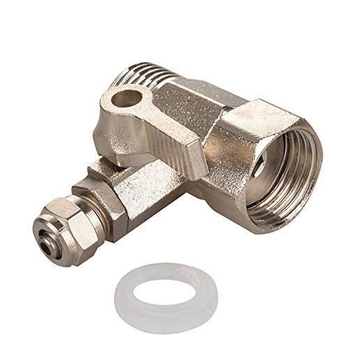 Válvula de autopartes Adaptador de agua de alimentación RO de servicio pesado 1/2 'a 1/4' Válvula de bola Faucet Faucet Tap Feed Feed Feed Reverse Durable Agua Adaptador de Agua Conector Accesorios de