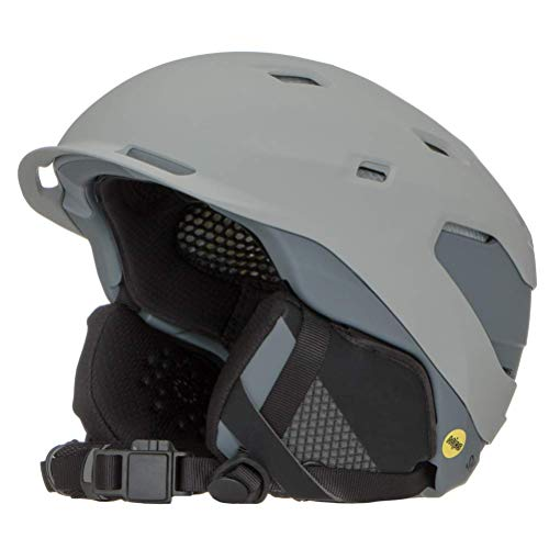 Smith Quantum MIPS Snow Helmet - Matte Cloudgrey/Charcoal   Medium