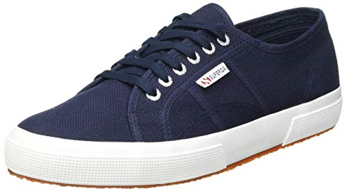 Superga 2750 COTU Classic Sneaker', Zapatillas Unisex Adulto, Azul Navy/White F43, 42 EU