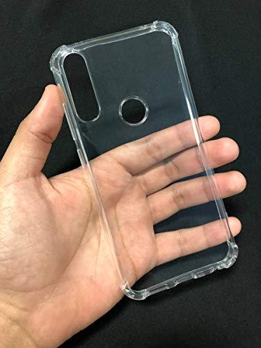 Capa anti impacto transparente silicone zenfone max shot - max plus m2 zb634kl (transparente)