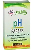 海外直送品pH Papers 6.0 8.0, 15 ft roll by Olympian Labs