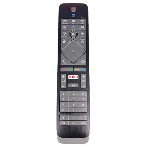 Original Remote Control for AC/TV/AV 398GF10BEPHN0000HT 398GF10BEPHN0002HT for Philips TV Remote Control with QWERTY Keyboard 55POS9002 Netflix 4K OLED New Jersey